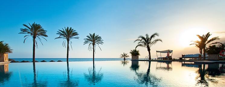 Infinity Pool de Beach Club Estrella del Mar, Marbella-Málaga.