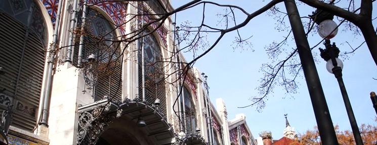 Fachada del Mercado Central de Valencia. / Foto: página oficial del Mercado.