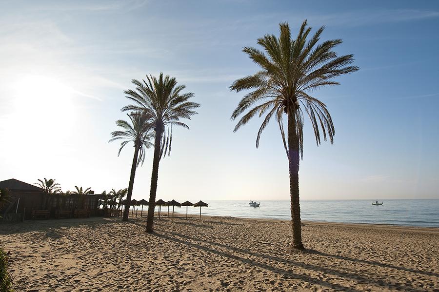 Playa de Elviria, Marbella, Málaga.