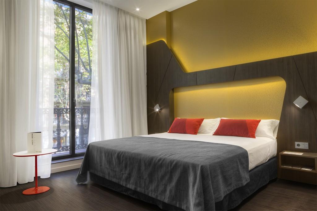 Habitación del hotel Vincci Gala 4* Barcelona.