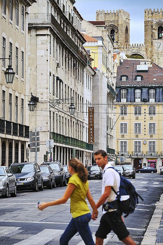 Hotel Vincci Baixa 4* Lisboa en Rua do Comercio, Lisboa, Portugal.
