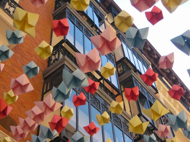 Calles del barrio de las Letras en DecorAcción 2013. / Foto: creatividaddiseno.blogspot.com.es