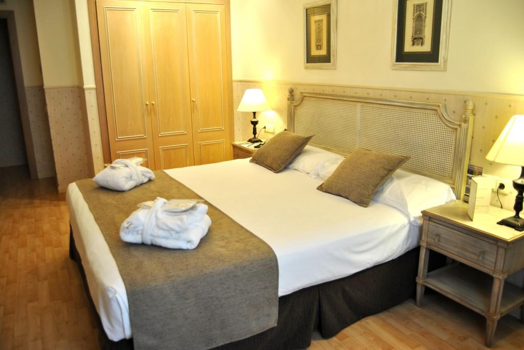 Habitación del hotel Vincci Lys 4* Valencia, Valencia.