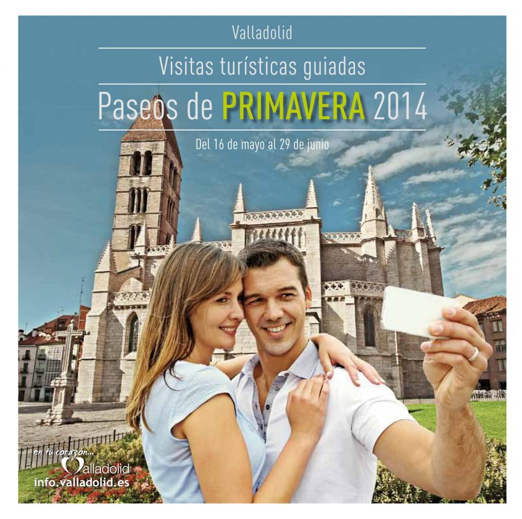 Cartel de Paseos de Primavera 2014, Valladolid. / Foto: info.valladolid.es