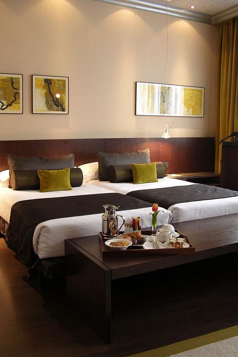 Habitación del hotel Vincci Centrum 4* Madrid.