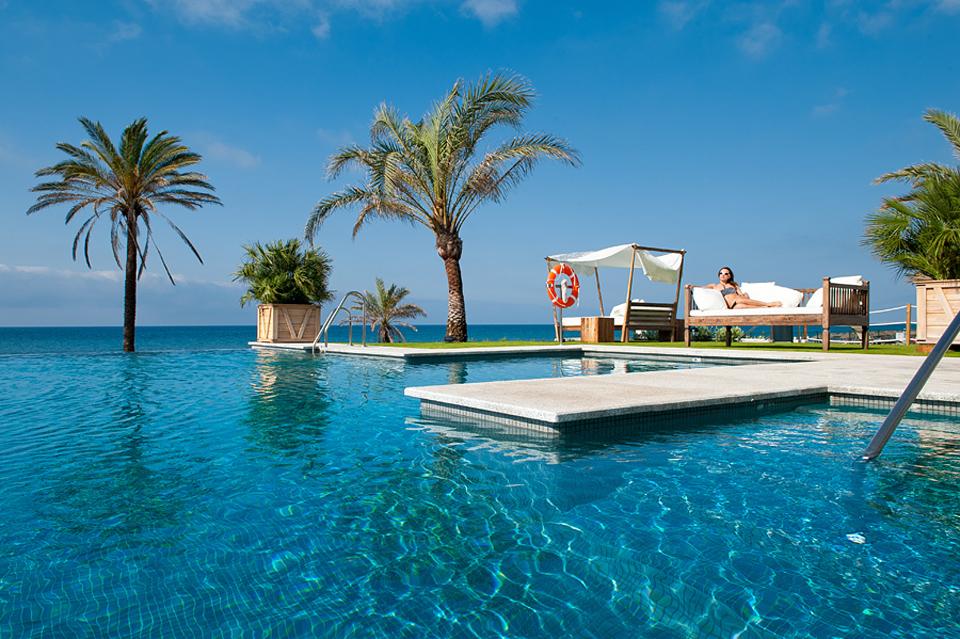 Beach Club del hotel Vincci Selección Estrella del Mar 5* Málaga - Marbella.