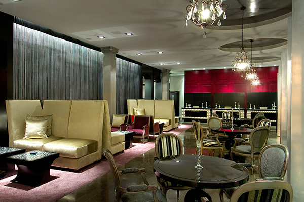 Bar Lounge de Vincci Palace 4* Valencia.