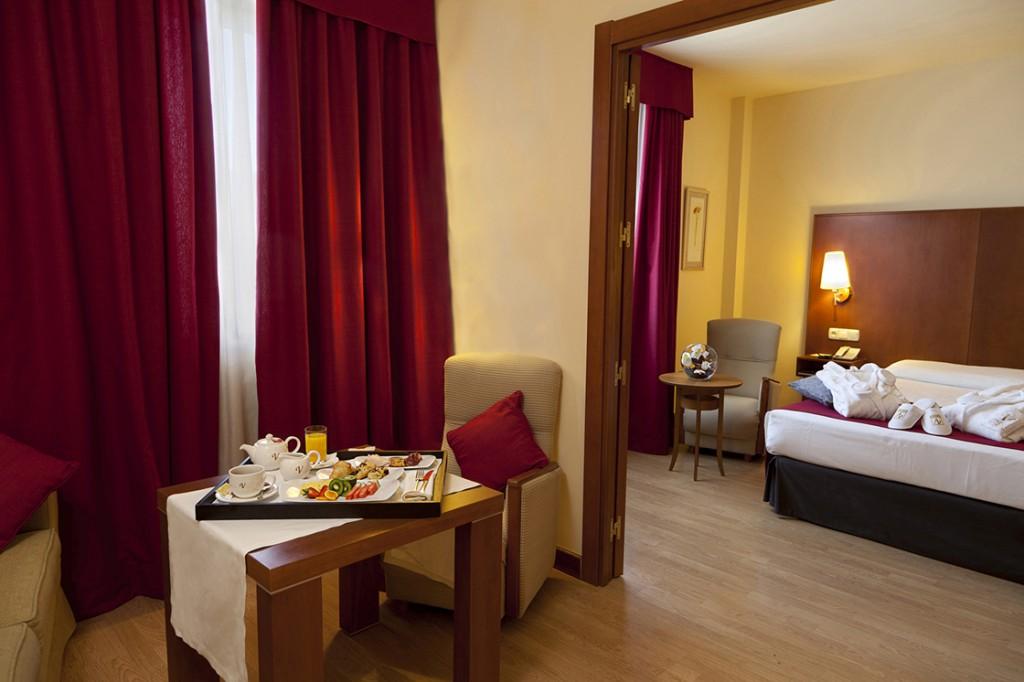 Suite Junior del hotel Vincci Ciudad de Salamanca 4* Salamanca.