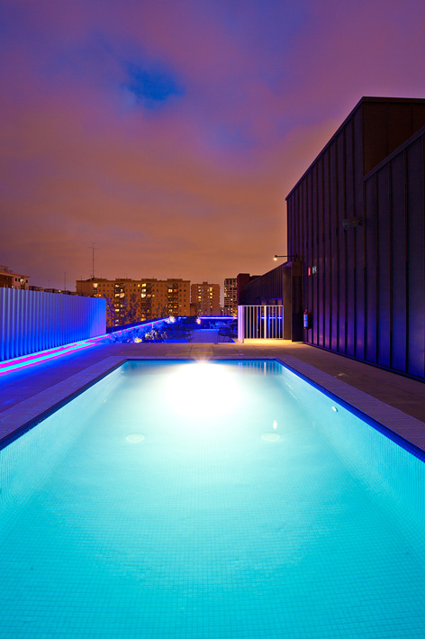 Piscina del hotel Vincci Bit 4* Barcelona