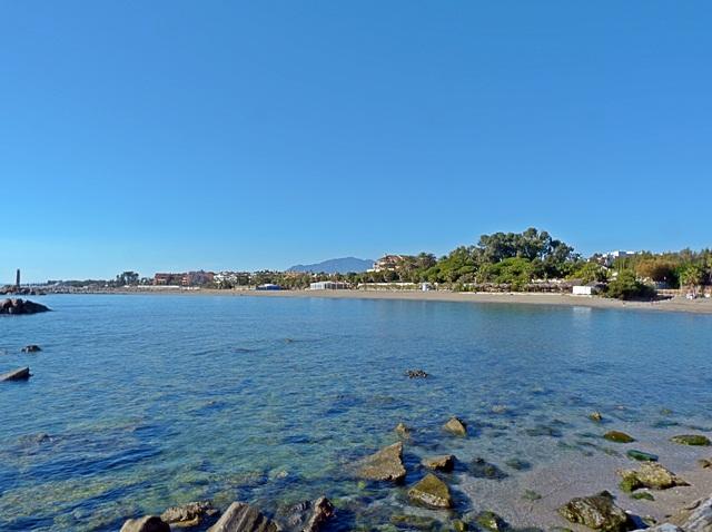 Playa de Puerto Banús, Marbella, Málaga. / Foto: marbella.costasur.com