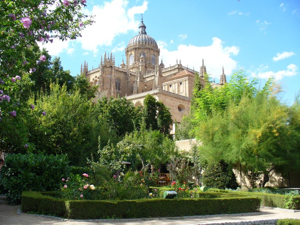 Huerto de Calixto y Melibea, Salamanca. / Foto: miguelyamparosecasan2012.blogspot.com