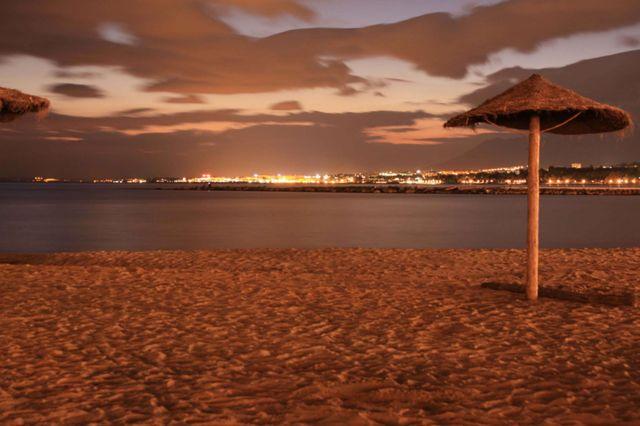 Playa El Faro, Marbella, Málaga. / Foto: objetivomalaga.diariosur.es