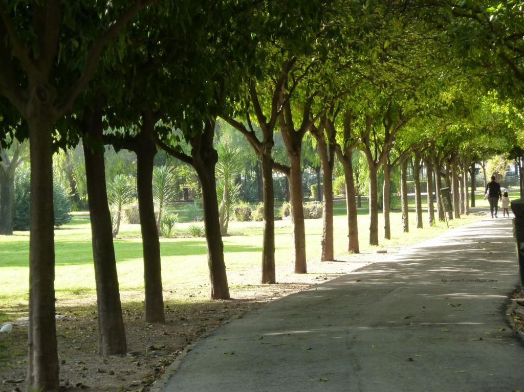Parque de los Príncipes, Sevilla. / Foto: sonnuestrasfotos.blogspot.com