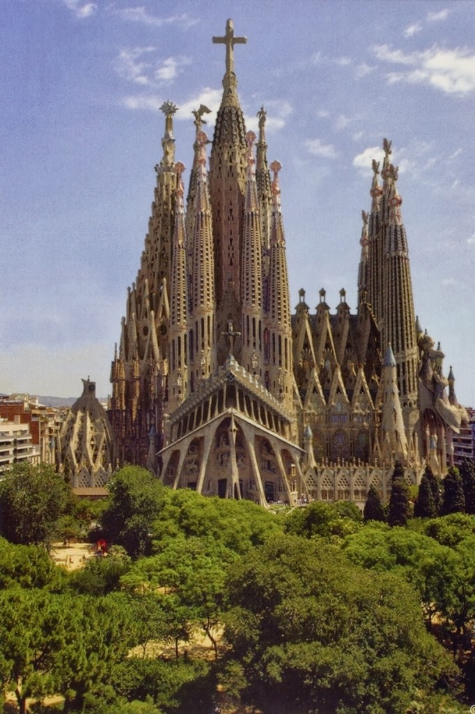 Basílica de la Sagrada Familia. / Foto: Mosingenieros.com