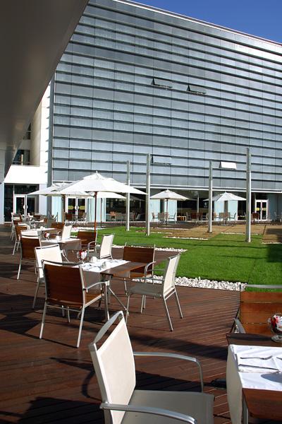 Jardín japonés del hotel Vincci Marítimo 4* Barcelona.