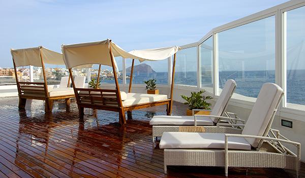 Solarium del hotel Vincci Tenerife Golf 4*.