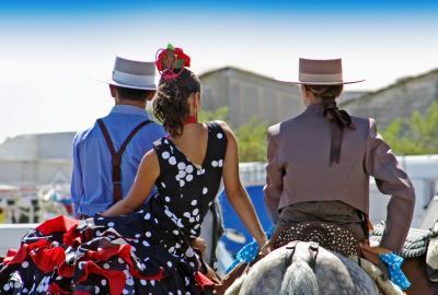 Feria de Málaga. / Foto: andaluciafotos.com