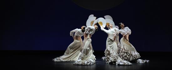 """Grito & Suite Sevilla"""" Ballet Nacional de España, participantes de la 63 edición del Festival Internacional de Santander. / Foto: Festival Internacional Santander."""