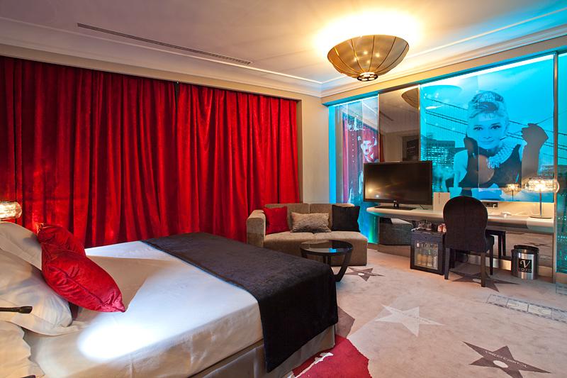 Suite del hotel Vincci Capitol 4* Madrid.