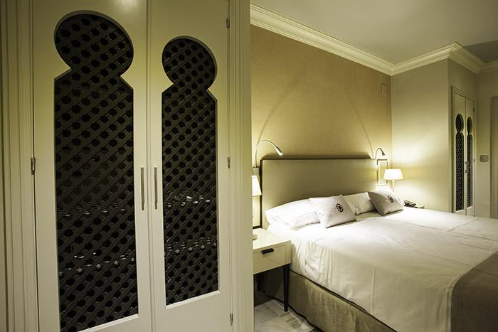 Habitación del hotel Vincci Albayzín 4* Granada.
