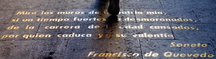 Barrio de las Letras, Madrid. / Foto: barrioletras.com