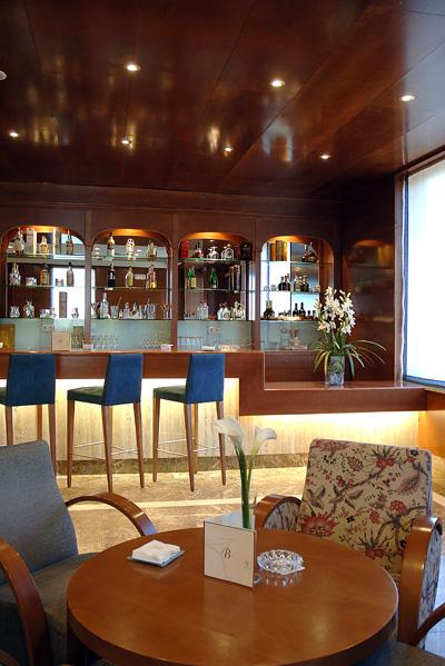 Bar Lounge del hotel Vincci Ciudad de Salamanca 4*.