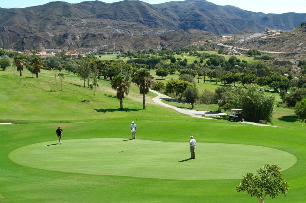Campo La Envía Golf, Almería.