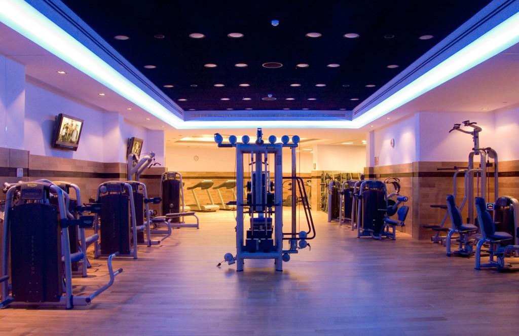*Sala de Fitness del Centro Wellness de Vincci Selección Envía Almería Wellness & Golf 5*