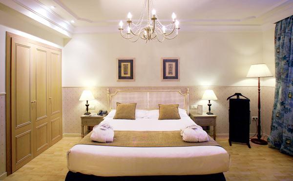 Habitación del hotel Vincci Lys 4* Valencia.