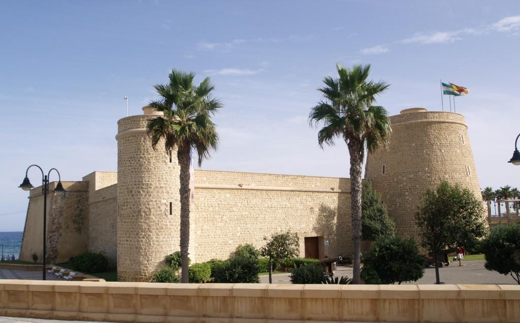 Castillo de Santa Ana, Roquetas de Mar. / Foto: objetivoalmeria.ideal.es