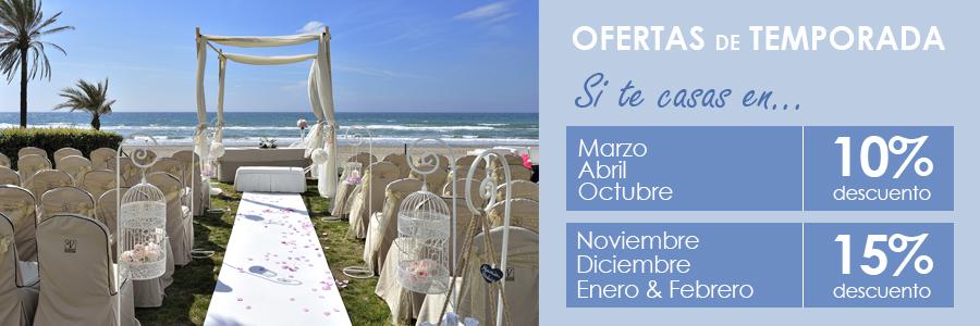 promoción bodas Beach Club Estrella del Mar