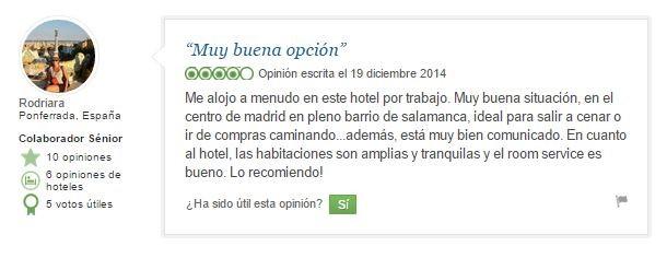 hotel en Madrid VincciSoma