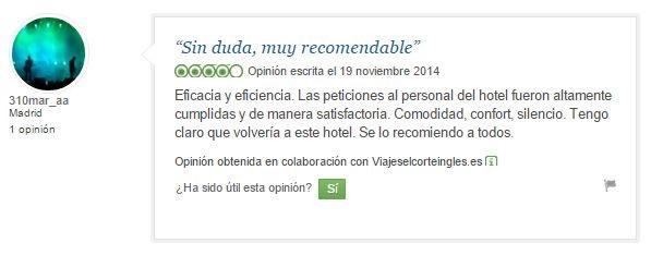 hotel en Madrid Vincci Soma