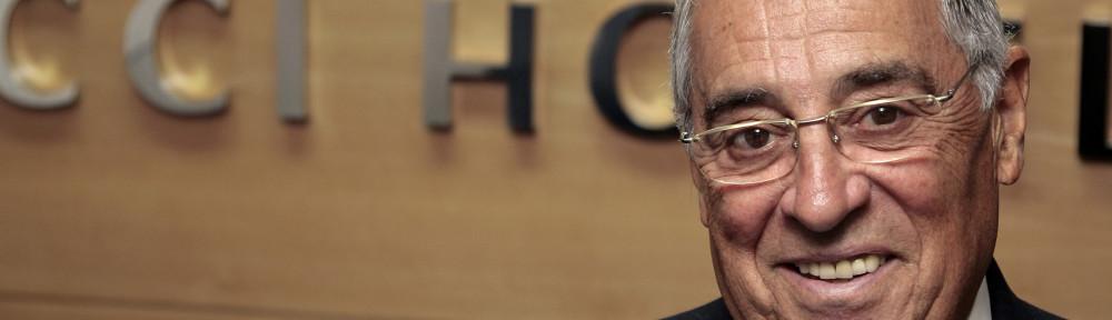 El presidente de Vincci Hoteles, Rufino Calero, medalla al Mérito Turístico en Sostenibilidad y Calidad