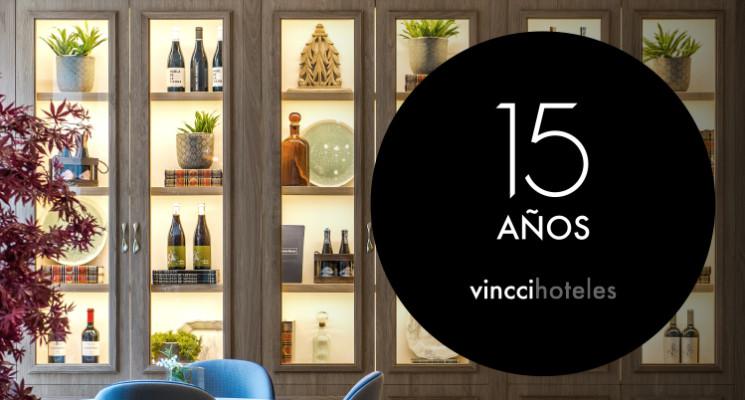 Vincci Hoteles celebra su 15º aniversario: 3 lustros de pasión por el turismo