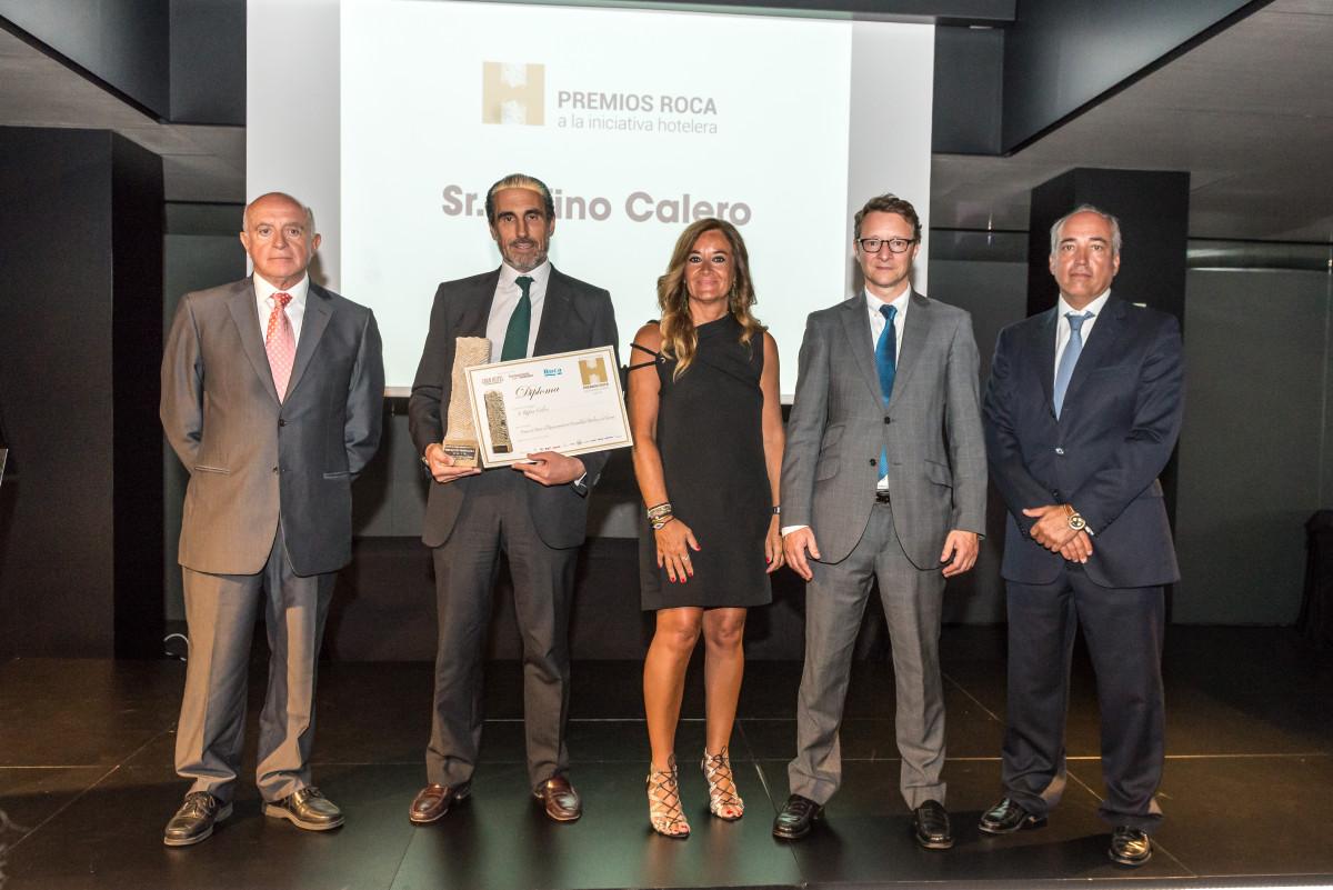 El presidente de Vincci Hoteles, Rufino Calero, Premio de Honor en los galardones concedidos por la revista Gran Hotel