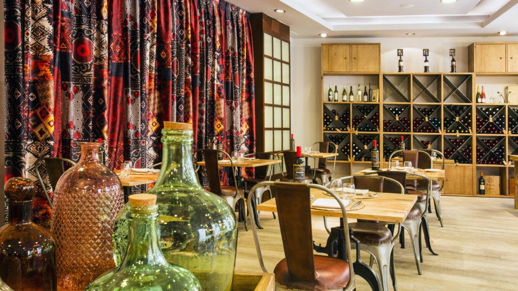 Restaurante Le Diner, en Vincci Selección Posada del patio 5*, Málaga