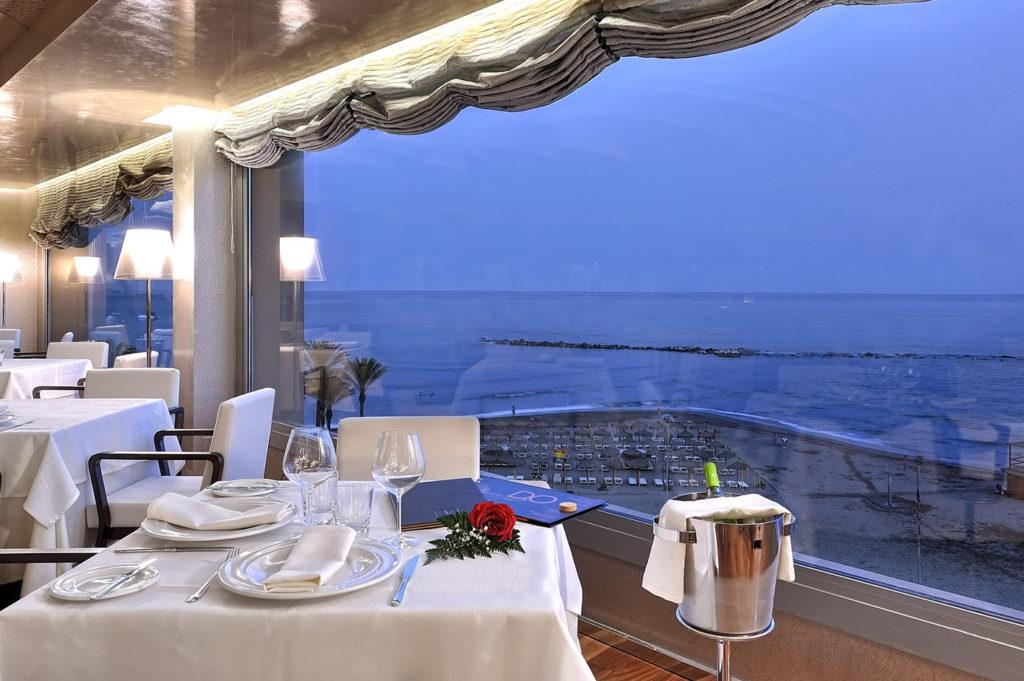 Vistas desde el restaurante del Hotel Vincci Selección Aleysa Boutique & Spa de Benalmádena