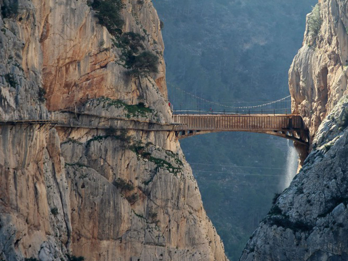 El Caminito del Rey: una experiencia a 105 metros de altura en Málaga