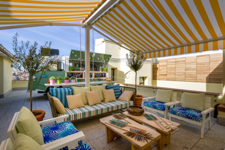 Vincci Hoteles inaugura temporada de terrazas para disfrutar del buen tiempo desde las alturas