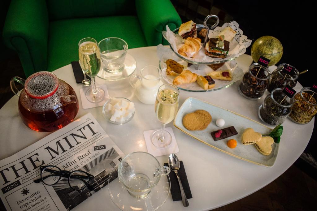 hora del té en Vincci The Mint
