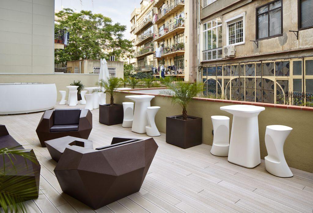 terraza Vincci Gala Barcelona