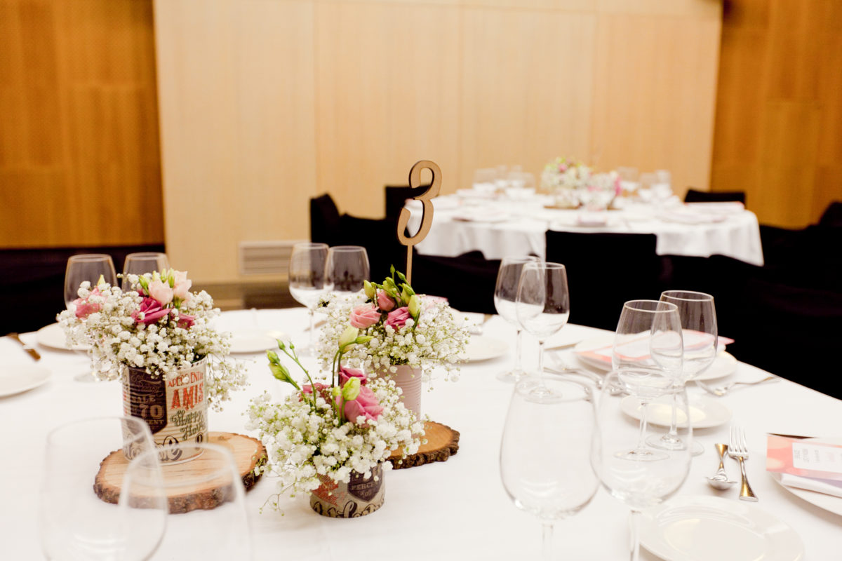 Una boda cuatro estrellas en pleno centro de Zaragoza