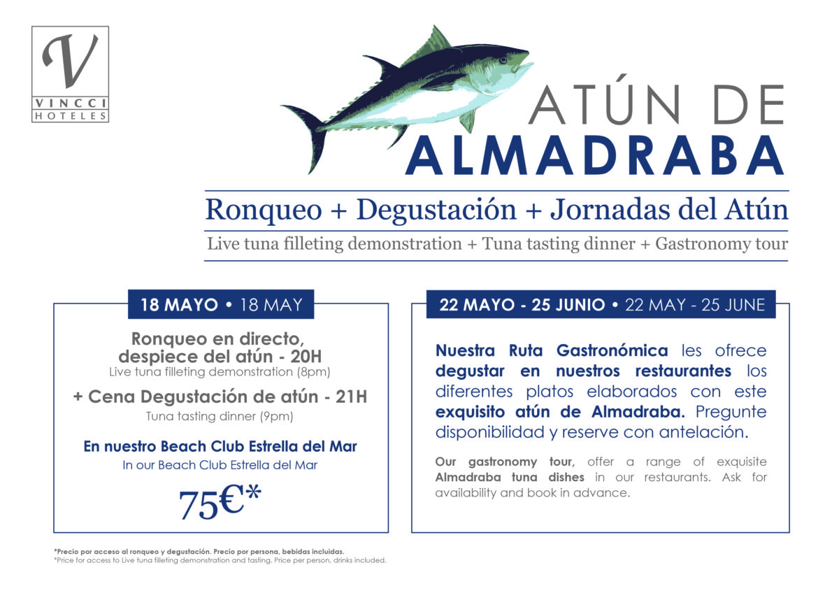El ritual ancestral del Ronqueo del atún de Almadraba desembarca en Marbella, en nuestro Beach Club