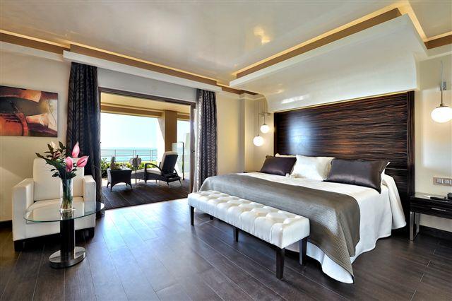 Habitación del Hotel Vincci Selección Aleysa Boutique & Spa de Benalmádena