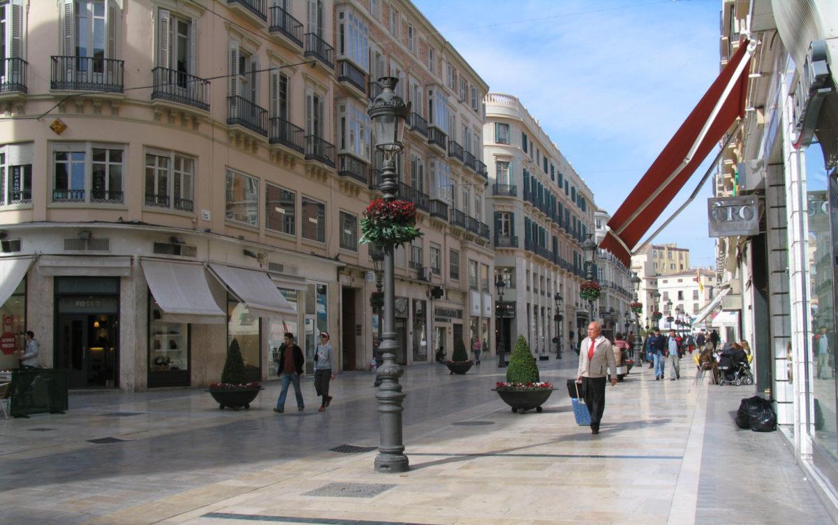 La calle Larios de la ciudad de Málaga estrenará nuevo hotel gestionado por Vincci Hoteles