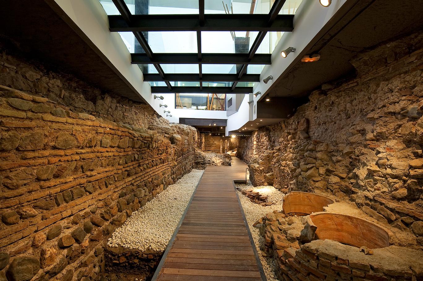 muralla árabe - vincci posada - málaga