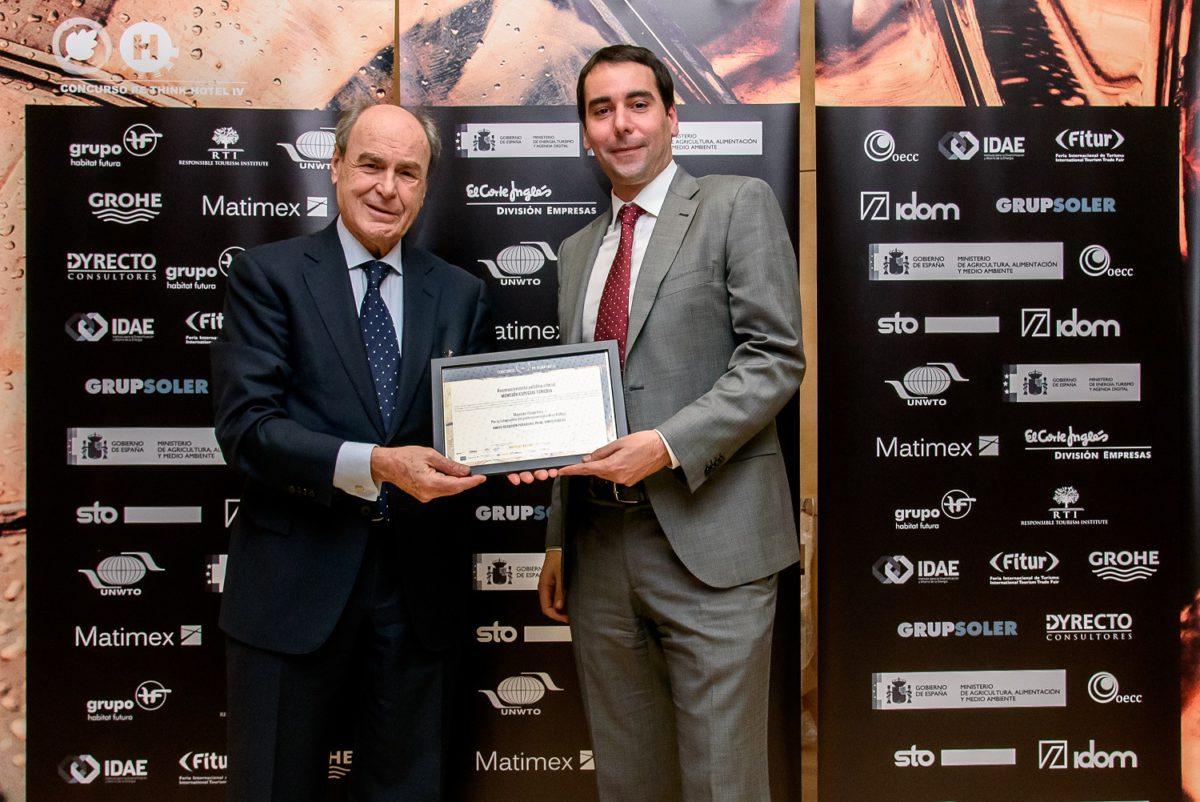 Vincci Selección Posada del Patio 5*, premiado con la Mención Especial por la integración del Patrimonio Cultural en Málaga