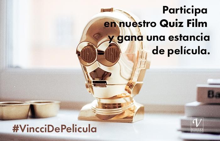 SORTEO EN FACEBOOK: Participa en nuestro Quiz Film #VincciDePelicula