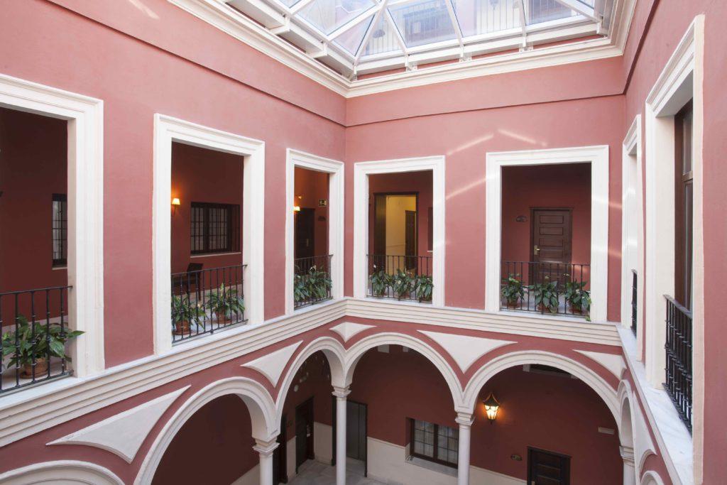 Patio Convento Vincci La Rábida - Sevilla